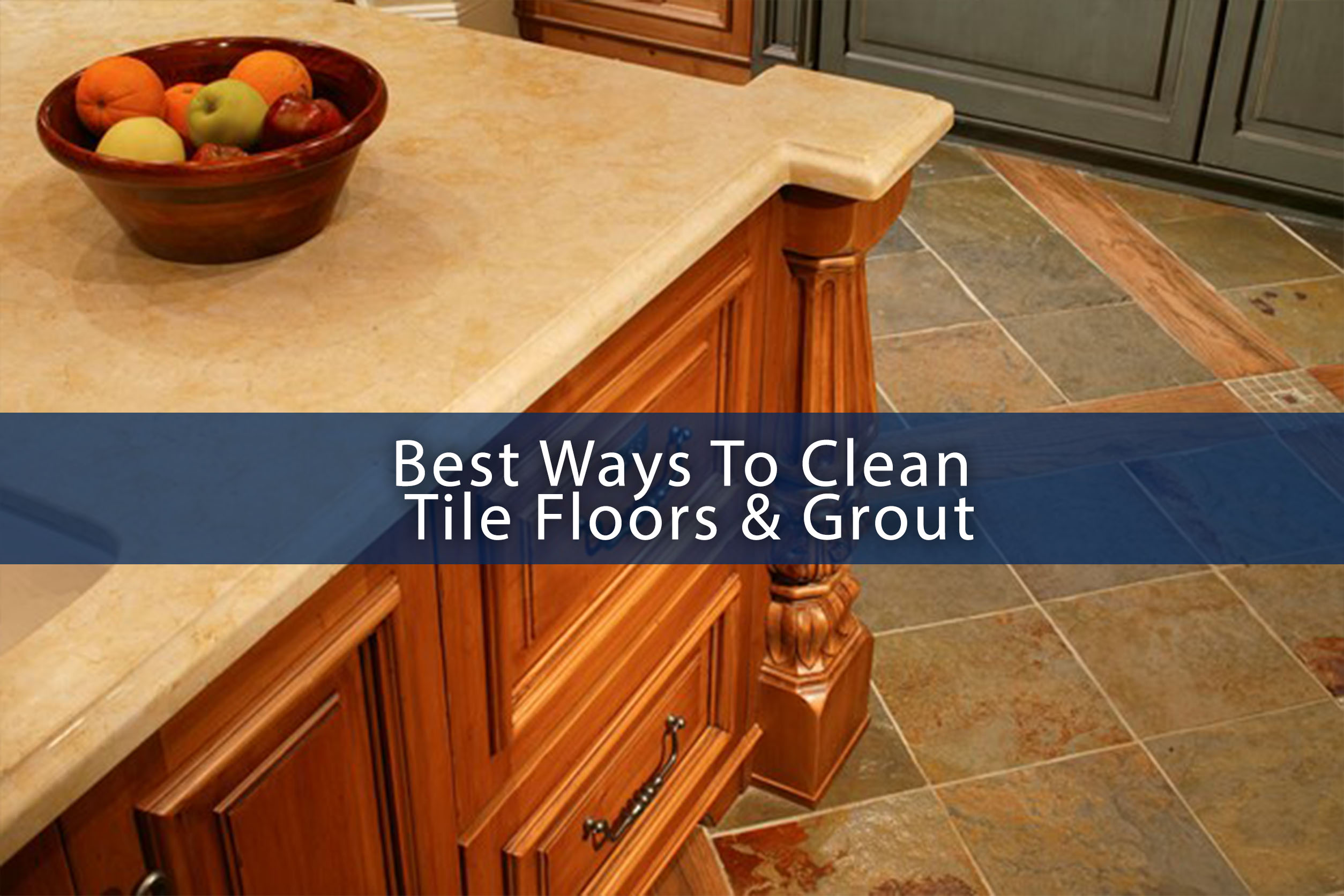 How to clean floor tile grout the easy way